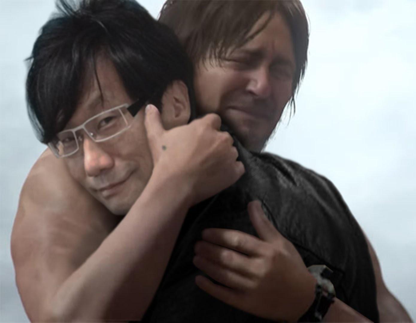 Death-Stranding-Hideo-hug