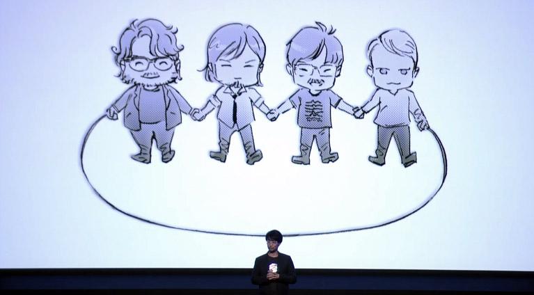 Death Stranding, Sony, PS4, Hideo Kojima, Kobo Abe, La corde, Le bâton, Sam Porter Bridges, BB, Arme, Liens