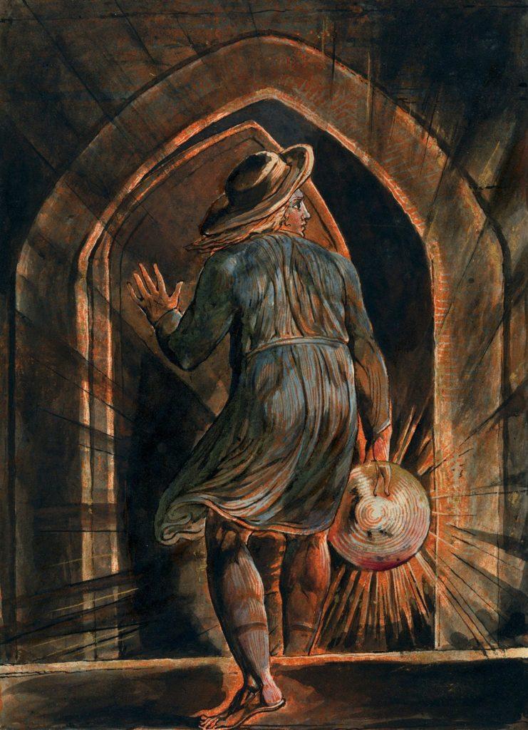 William Blake, Prémisse d'Innocence, Génie poétique, le voilier, la plage, trailer, 2016, E3, Poème, Poésie, BT, Echoués, Sam, Hideo Kojima, Death Stranding, Connexion
